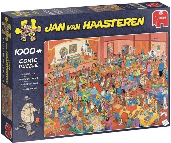 Jan van Haasteren De Goochelbeurs - 1000 stukjes