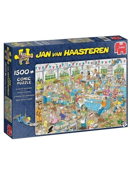 Jan van Haasteren Taartentoernooi - 1500 stukjes