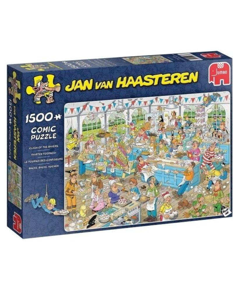 Jan van Haasteren Jan van Haasteren Taartentoernooi - 1500 stukjes
