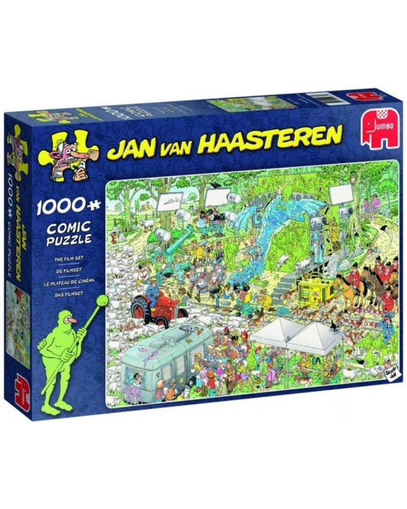 Jan van Haasteren Jan van Haasteren The Film Set - 1000 stukjes