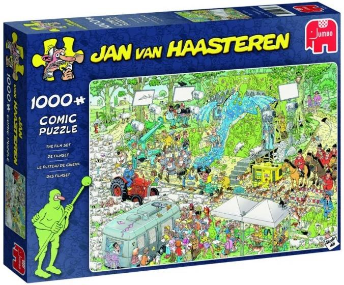 Jan van Haasteren The Film Set - 1000 stukjes