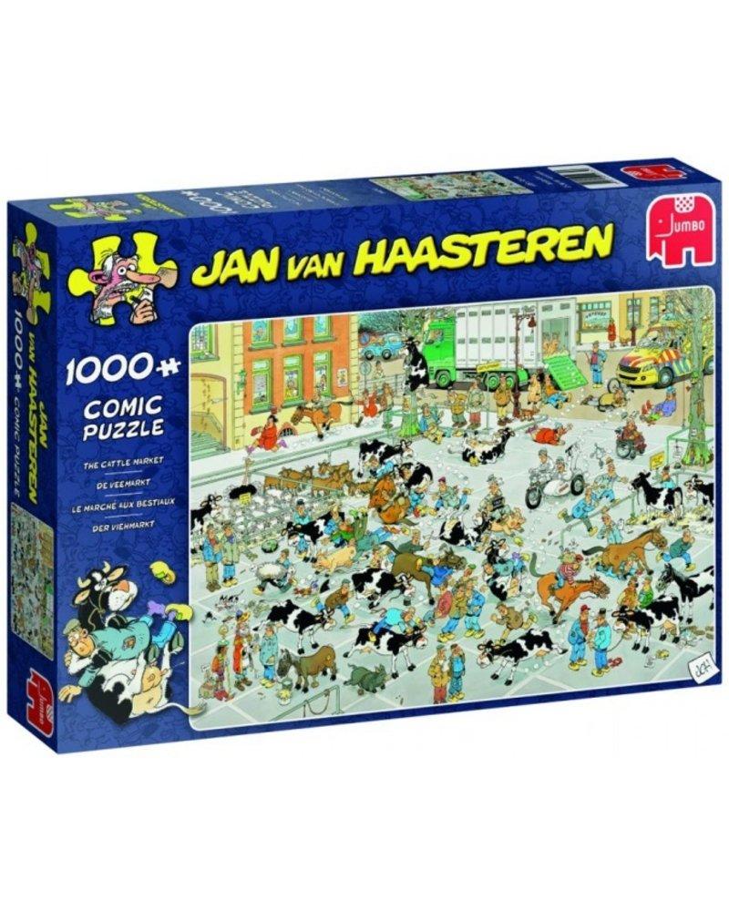 Jan van Haasteren Jan van Haasteren The Cattle Market - 1000 stukjes