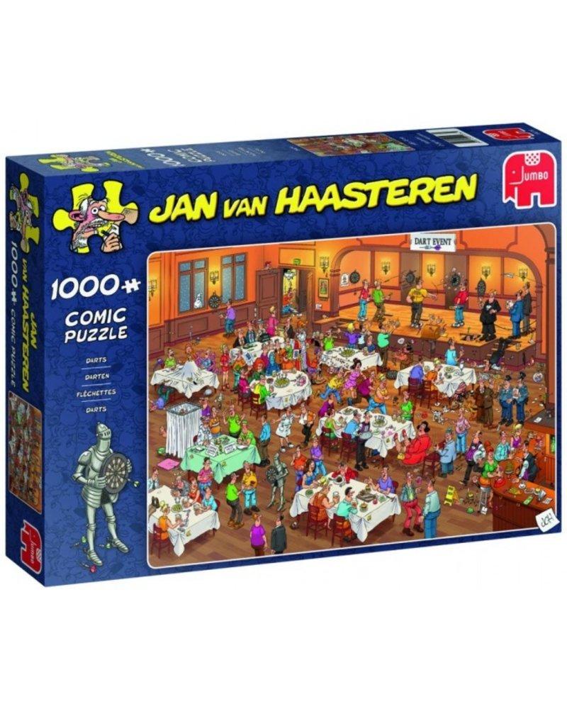 Jan van Haasteren Jan van Haasteren Darts - 1000 stukjes