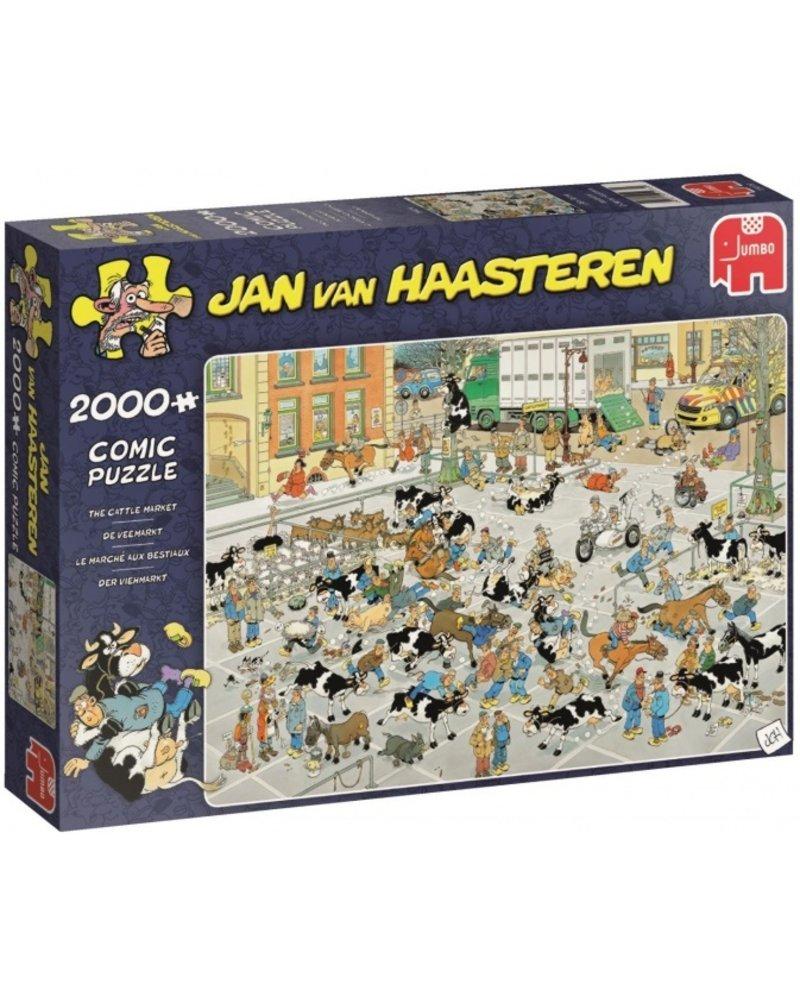 Jan van Haasteren Jan van Haasteren De Veemarkt - 2000 stukjes