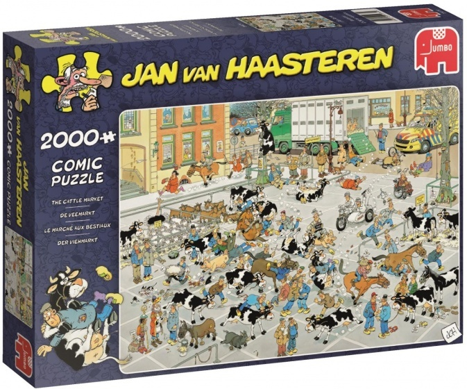 Jan van Haasteren De Veemarkt - 2000 stukjes