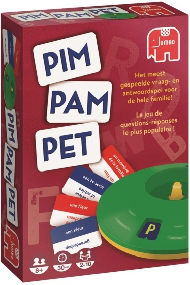 Jumbo Pim Pam Pet original reisspel
