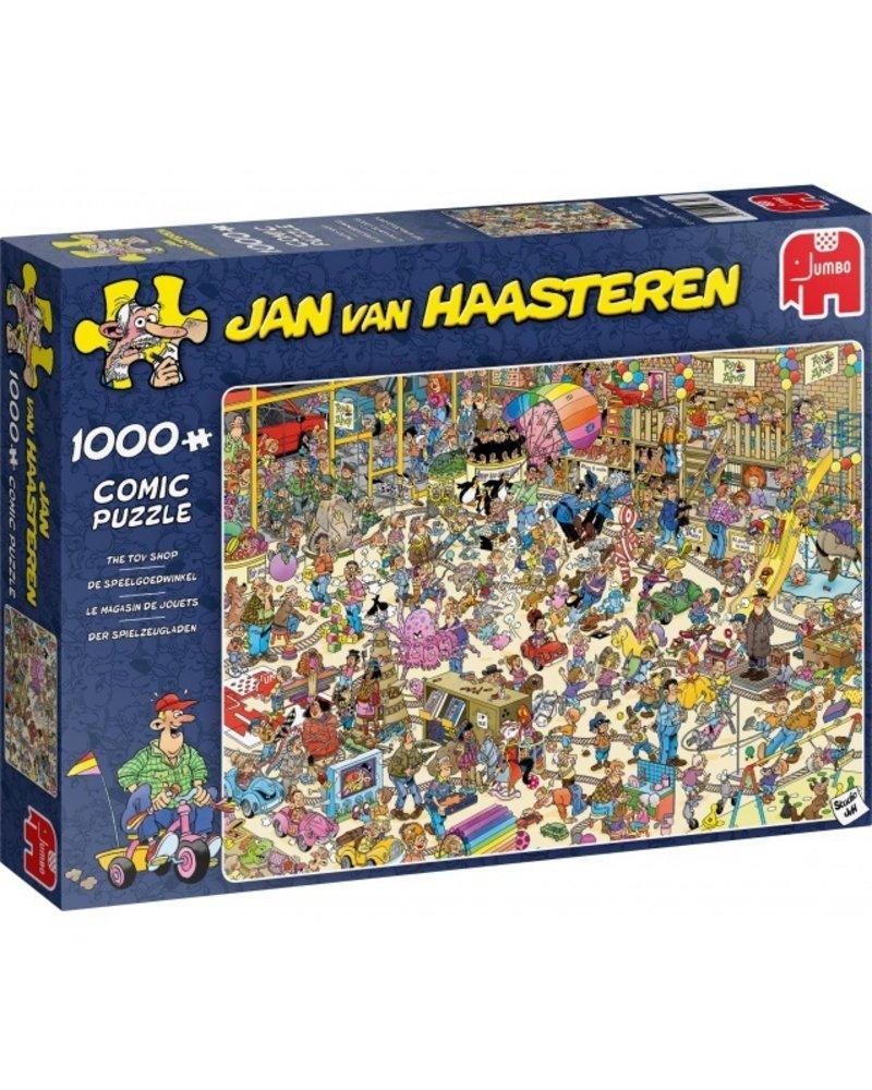Jan van Haasteren Jan van Haasteren De Speelgoedwinkel - 1000 stukjes
