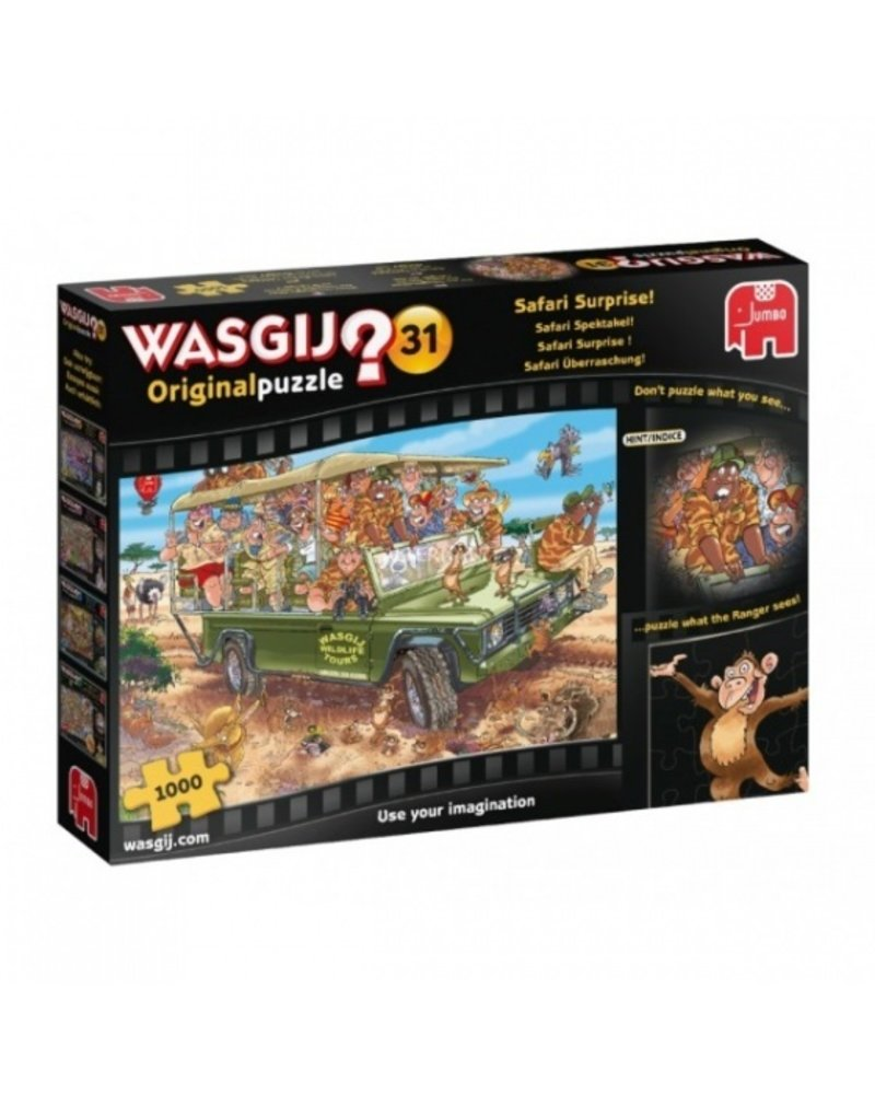 Jumbo Wasgij Original Safari Spektakel! - 1000 stukjes