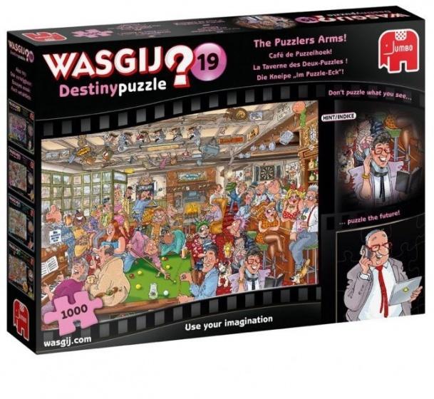 Jumbo Wasgij Destiny Café de Puzzelhoek - 1000 stukjes