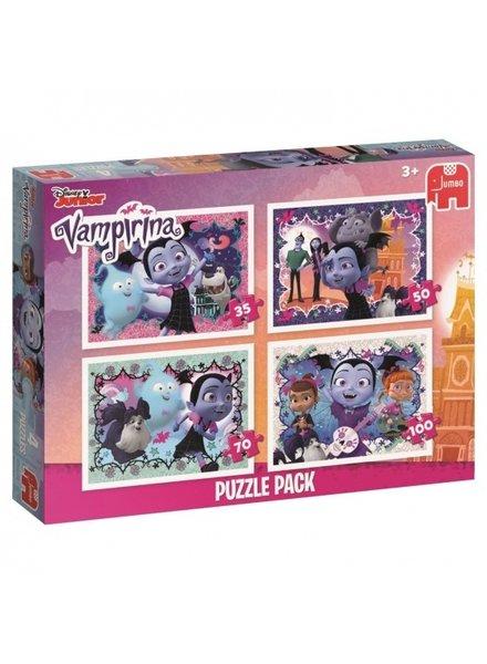 Jumbo Vampirina 4in1 puzzel (35/50/70/100 stukjes)