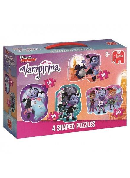 Jumbo Vampirina 4in1 puzzel (14/16/18/20 stukjes)