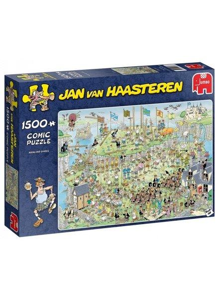 Jan van Haasteren Highland Games - 1500 stukjes