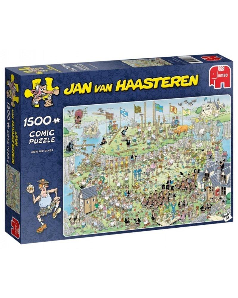 Jan van Haasteren Jan van Haasteren Highland Games - 1500 stukjes