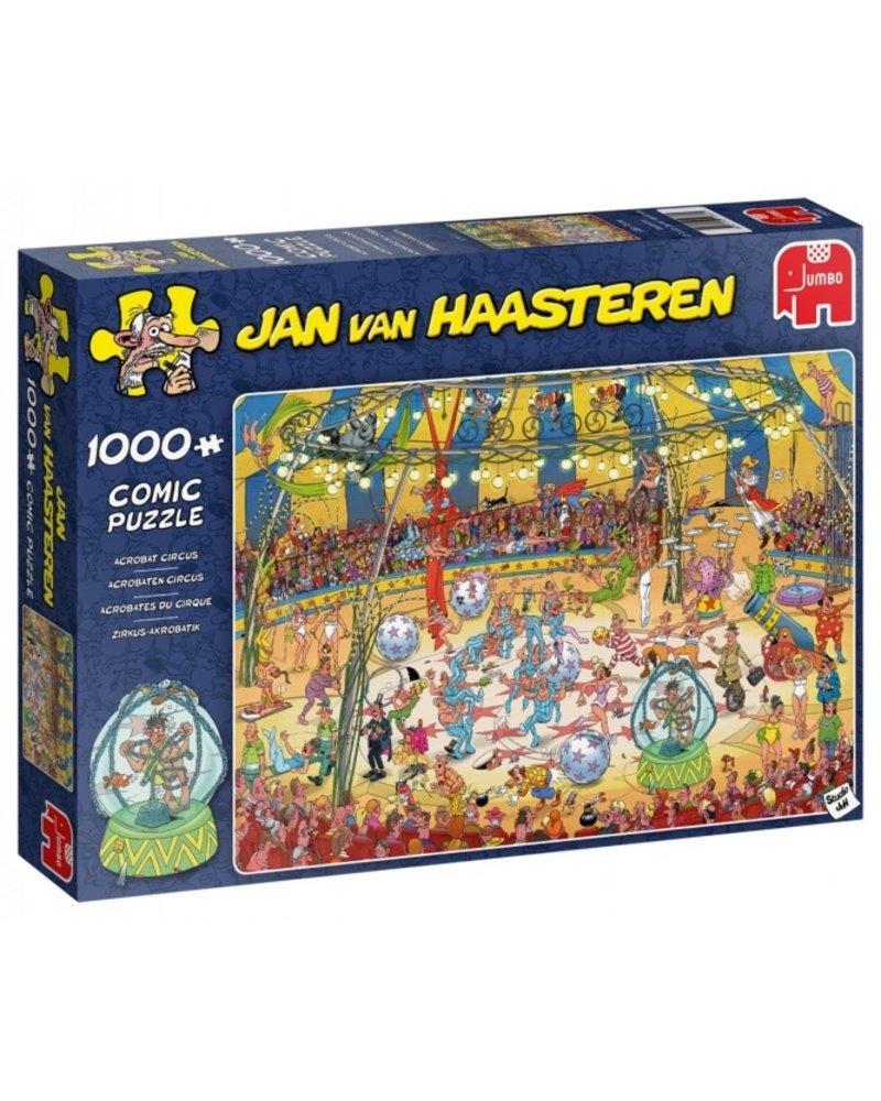 Jan van Haasteren Jan van Haasteren Acrobaten Circus - 1000 stukjes