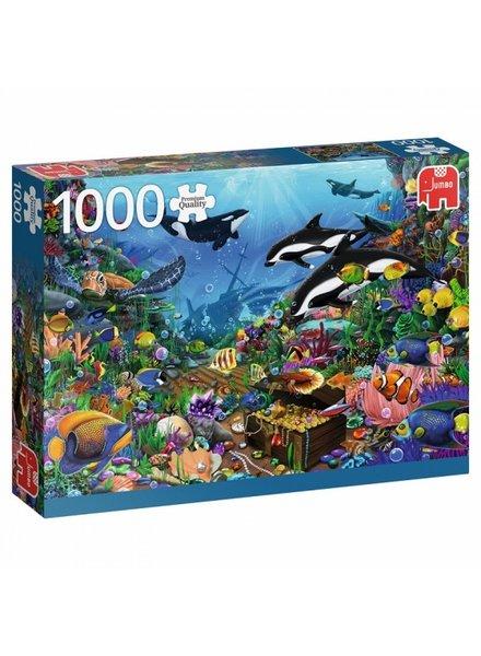 Jumbo Jewels of the Deep - 1000 stukjes