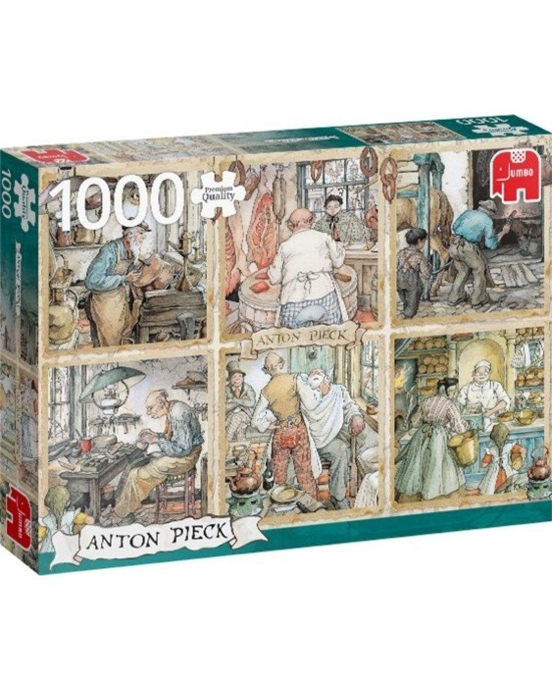 Jumbo Anton Pieck Craftmanship - 1000 stukjes
