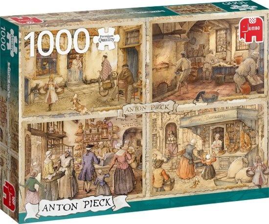 Jumbo Anton Pieck Bakers from the 19th century - 1000 stukjes