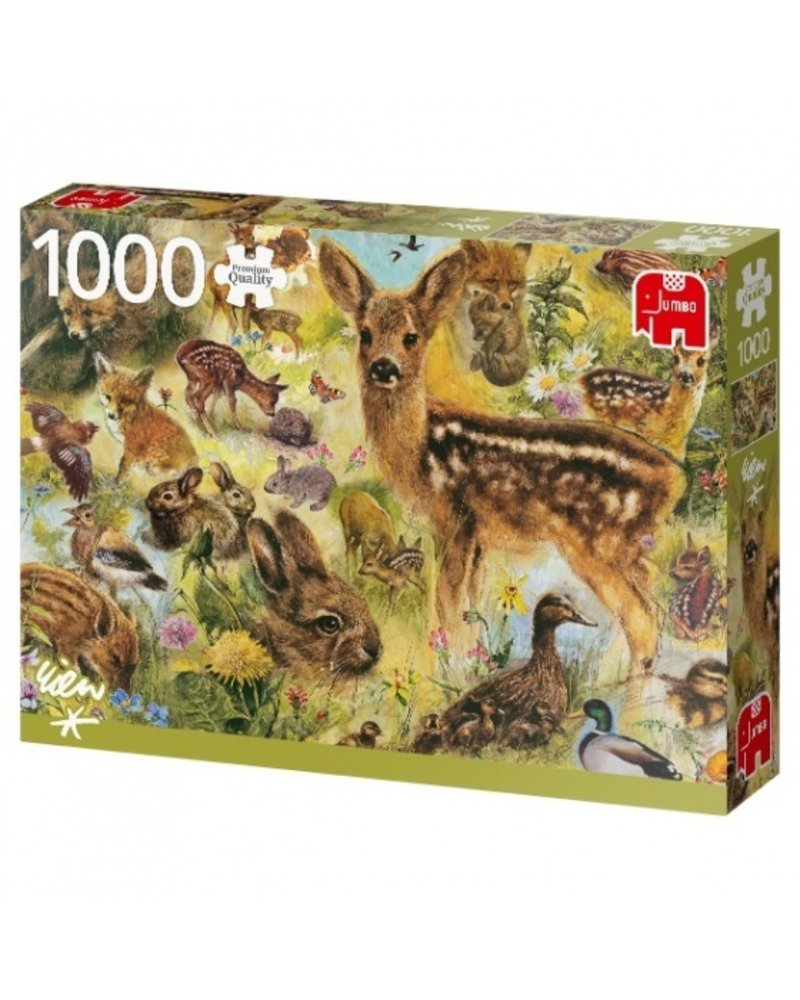 Jumbo PC Young Wildlife - 1000 stukjes