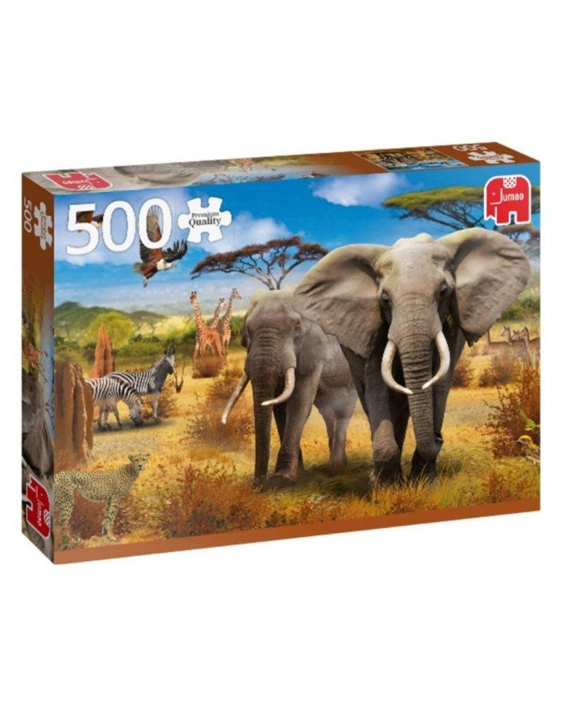 Jumbo African Savannah - 500 stukjes