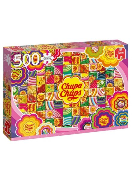 Jumbo Chupa Chups Colourful - 500 stukjes