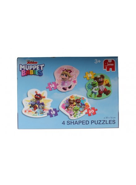 Jumbo Muppet Babies 4 in 1 Puzzel