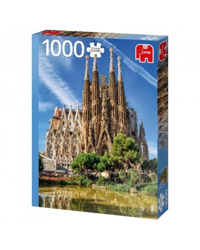 Jumbo Sagrada Familia View Barcelona - 1000 stukjes