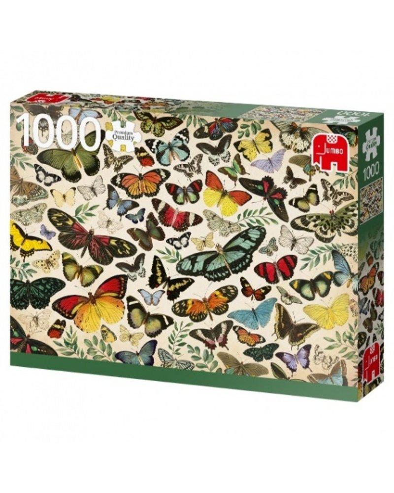 Jumbo Butterfly Poster -  1000 stukjes