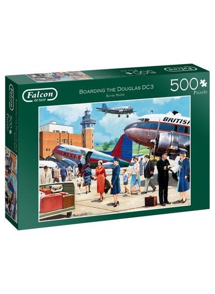 Falcon Boarding the Douglas DC3 - 500 stukjes
