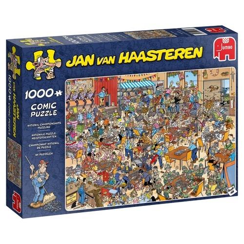 Jan van Haasteren NK Legpuzzelen - 1000 stukjes