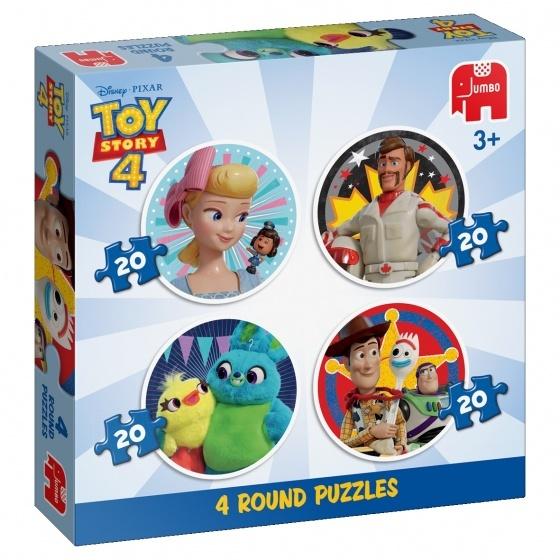 Jumbo Disney Toy Story 4-in-1, 20 stukjes