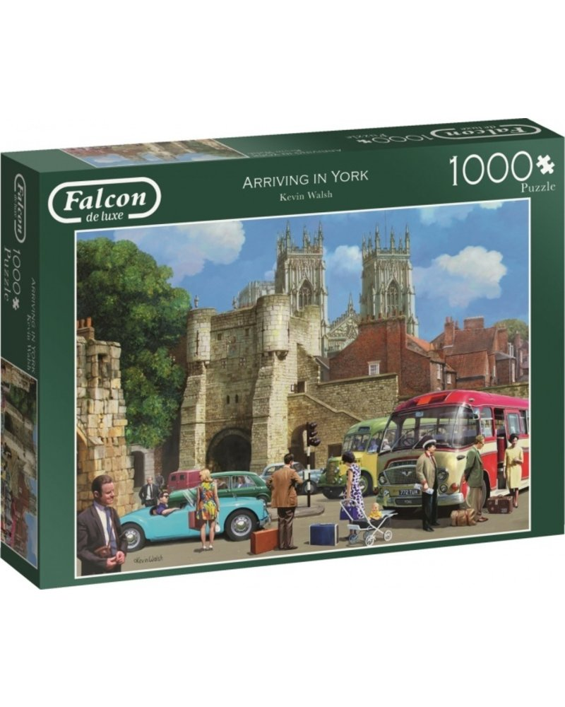 Falcon Arriving In York - 1000 stukjes