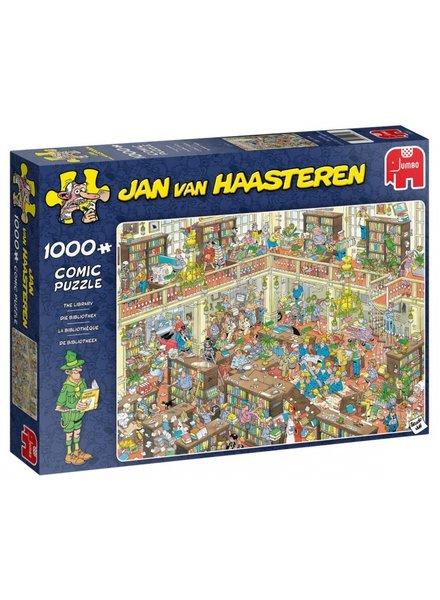 Jan van Haasteren De bibliotheek - 1000 stukjes