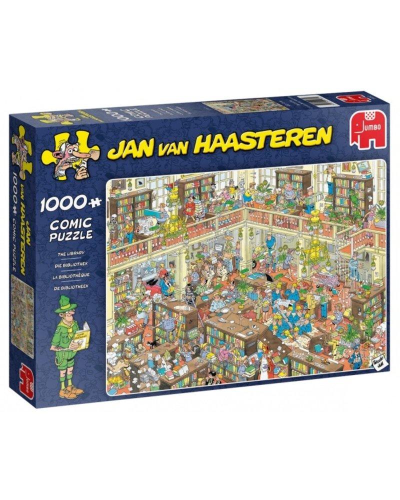 Jan van Haasteren Jan van Haasteren de bibliotheek - 1000 stukjes
