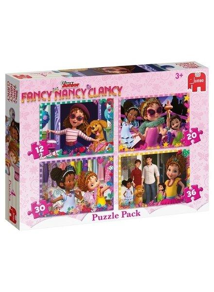 Jumbo Fancy Nancy 4-in-1 Puzzel (12/20/30/36 stukjes)