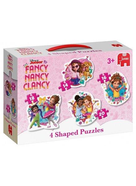 Jumbo Fancy Nancy 4-in-1 Puzzel (14/16/18/20 stukjes)