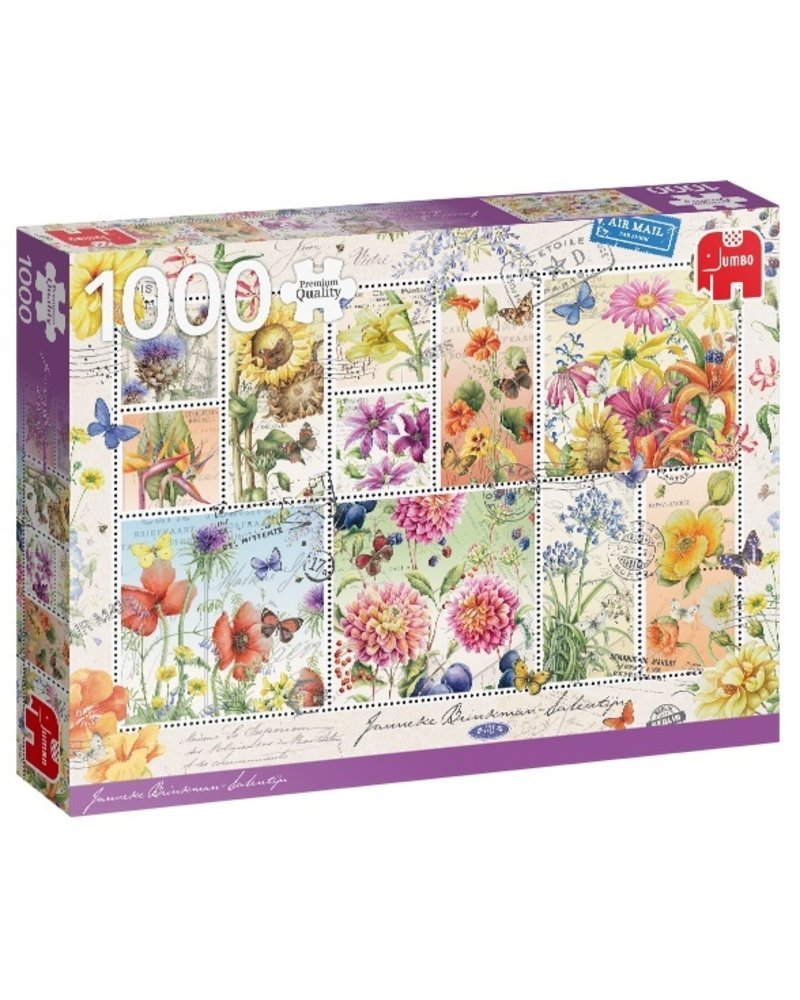 Jumbo Flower Stamps, Summer Flowers - 1000 stukjes