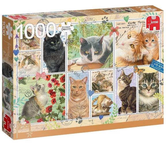 Jumbo Cat Stamps - 1000 stukjes