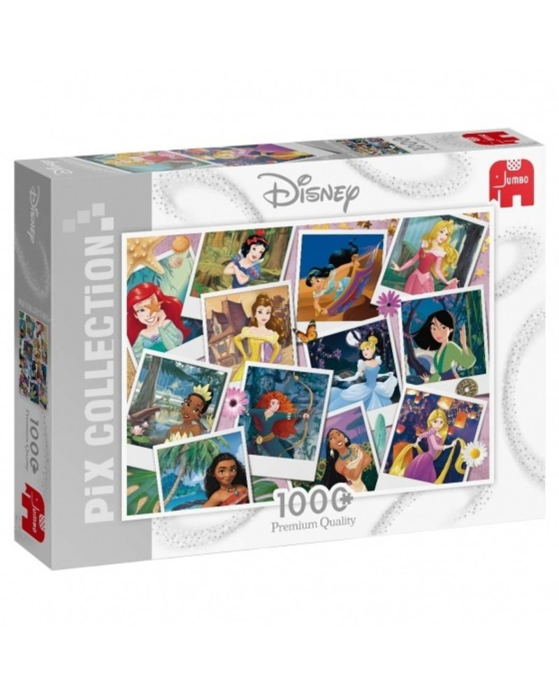 Jumbo Disney Princess Selfie - 1000 stukjes
