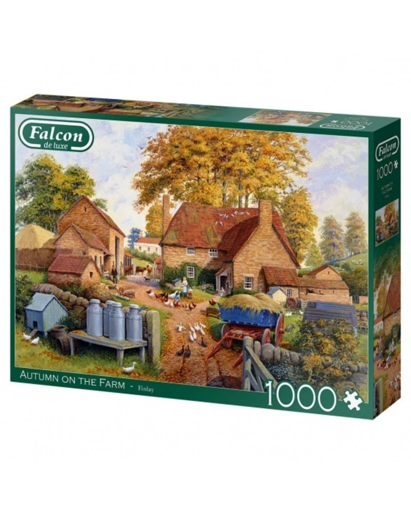 Falcon Autumn on the Farm - 1000 stukjes
