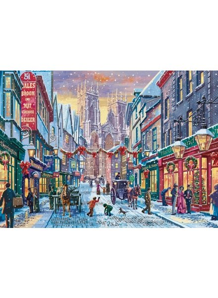 Falcon Christmas in York - 1000 stukjes