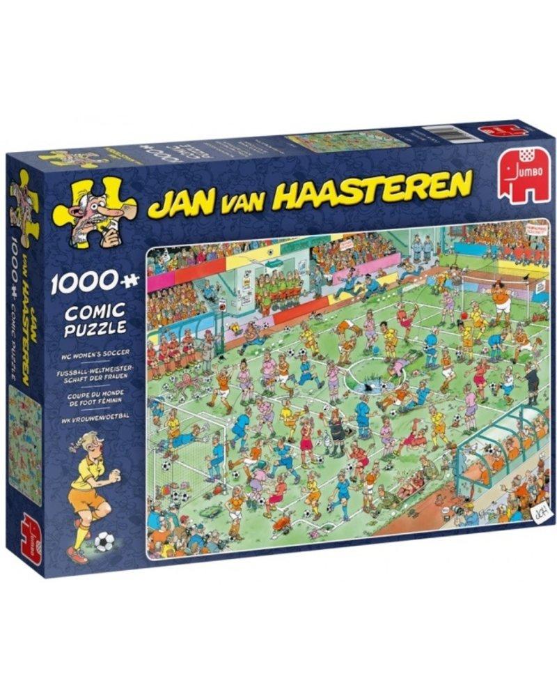 Jan van Haasteren Jan van Haasteren WK vrouwenvoetbal - 1000 stukjes