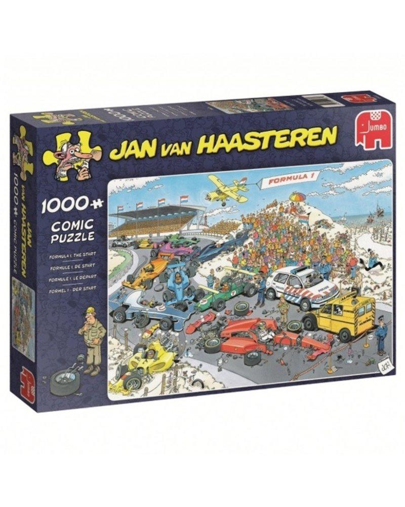 Jan van Haasteren Jan van Haasteren Formule 1 start - 1000 stukjes