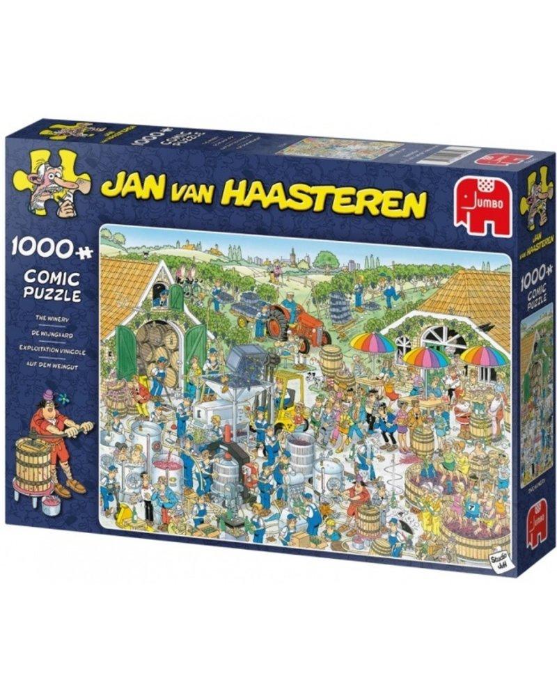 Jan van Haasteren Jan van Haasteren De Wijngaard - 1000 stukjes