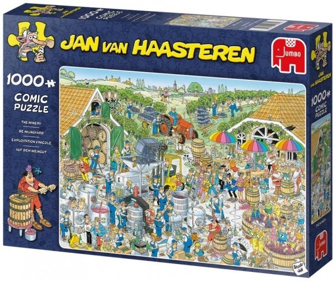 Jan van Haasteren De Wijngaard - 1000 stukjes