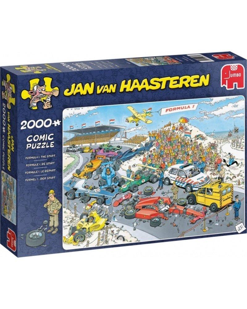 Jan van Haasteren Jan van Haasteren Formule 1 - Start - 2000 stukjes