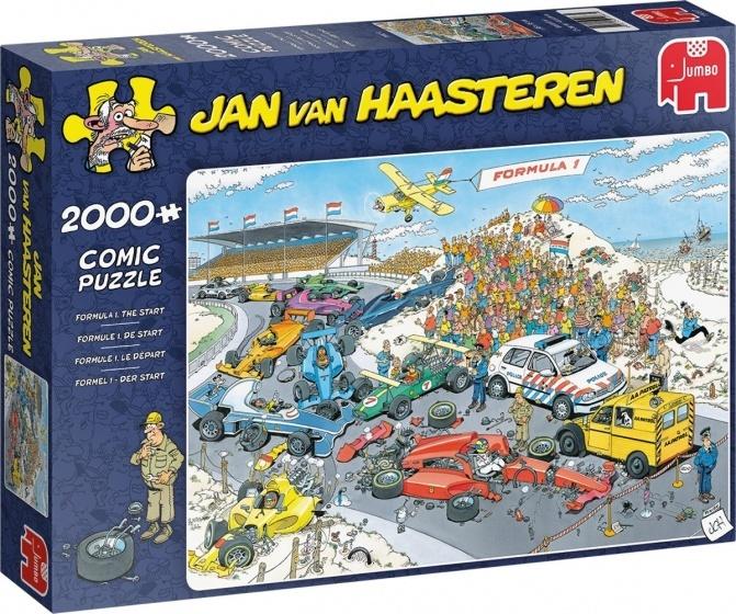 Jan van Haasteren Formule 1 - Start - 2000 stukjes