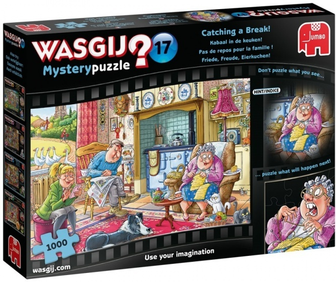 Jumbo Wasgij Mystery - Kabaal in de keuken! - 1000 stukjes