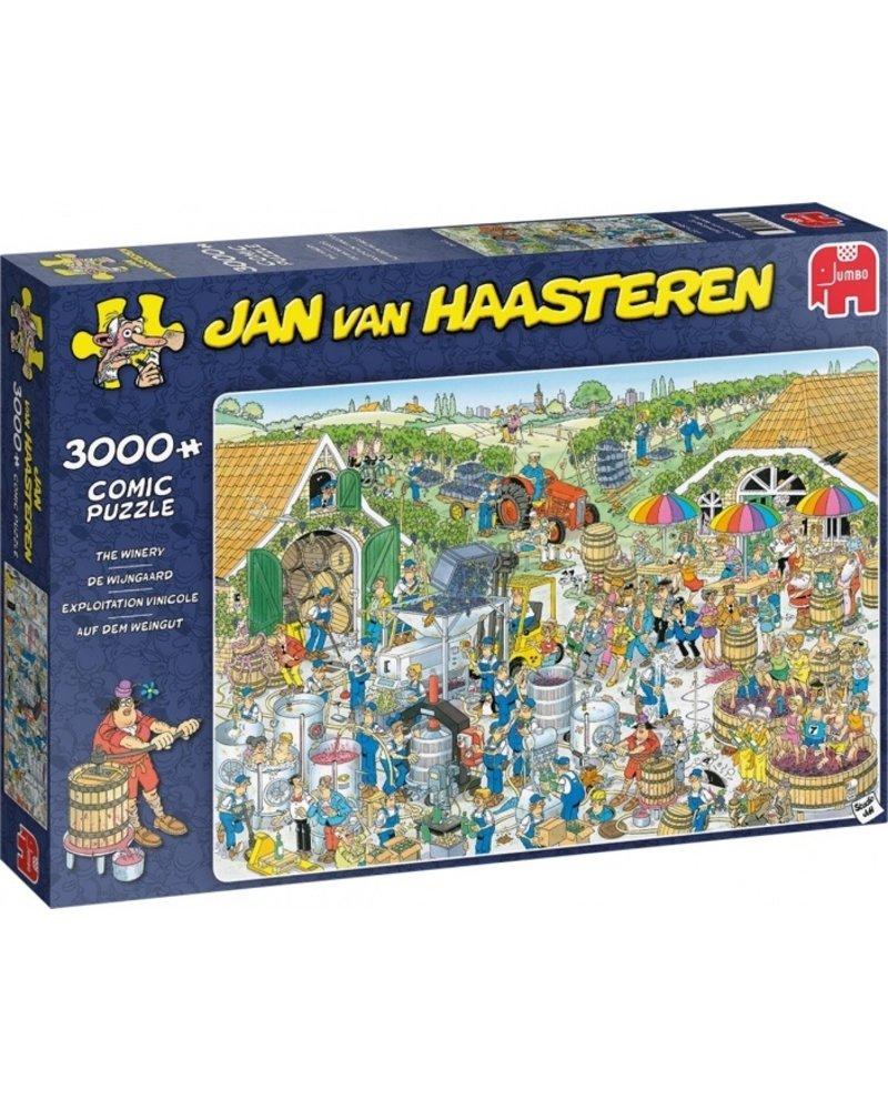 Jan van Haasteren Jan van Haasteren De Wijnmakerij - 3000 stukjes