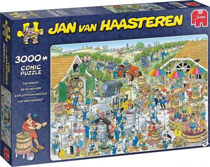 Jan van Haasteren De Wijnmakerij - 3000 stukjes