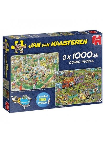 Jan van Haasteren Food Truck Festival 2 x 1000 stukjes